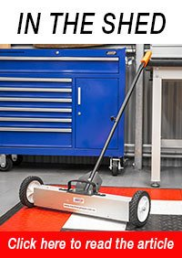MFS-14 Magnetic Floor Sweeper