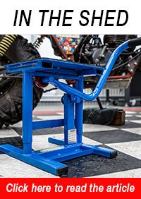 HAFCO MLR-160 Motorcycle Lifter-Stand