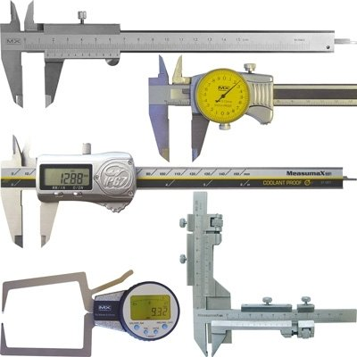 Calipers - Digital, Dial, Vernier